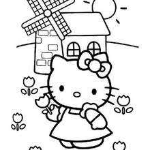 Hello Kitty And The Mill
