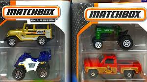 100 Matchbox Car Carrier Truck COLLECTION OF MATCHBOX ON MISSION 18 DIFFERENT MBX PACKS AND