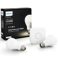 buy philips hue white personal wireless lighting led starter kit