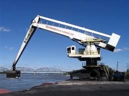 100 Beelman Trucking Coal Offloading Crane River Terminals On The Mississippi