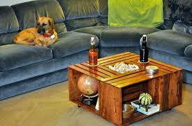 Wine Crate Coffee Table Photo Etsy