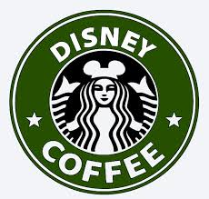 SVG Disney Coffee Starbucks Logo