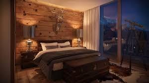 hotelzimmer alpine chic luxusschlafzimmer schlafzimmer