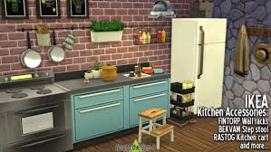 Around The Sims 4 IKEA Accessories Kitchen