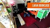 Ikea Laiva Desk Assembly by Ikea Laiva Bookcase Assembly Timelapse 1 Of 2 Youtube