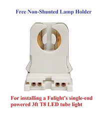 Requires Non Shunted Lamp Holders Tombstones by Fulight F25t8 Cw Led Tube Light T8 3 Foot 14w 30w Equivalent