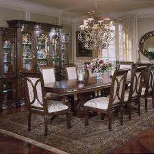 Michael Amini Living Room Sets by Villagio Dining Room Set With Rectangular Table Is Manufactured