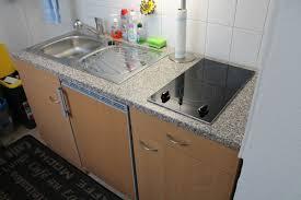 single küche 150 cm kühlschrank ceran spüle in 39120