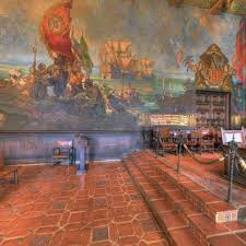Santa Barbara Courthouse Mural Room by Santa Barbara County Courthouse Mural Room