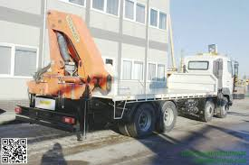 100 Truck Mounted Cranes HINO 700 8x4 Truck Mounted Crane Palfinger Cranes 30Tm Boom Whatsp