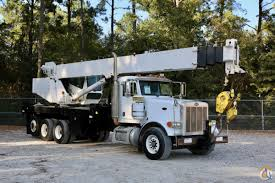 100 Used Peterbilt Trucks For Sale In Texas Sold National 18103 Mounted To 2006 378 Chassis Crane