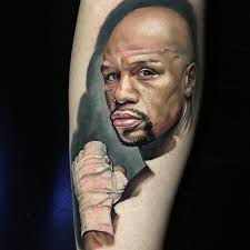 Floyd Mayweather Tattoo First Sitting Empyreal Ink Pawtucket Rhode Island Mike Johnston