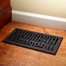 wicker style cast iron floor register hardware