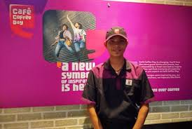 Course At A DB Tech Centre In Chhattisgarh Teerath Is Now Proud Employee Of Cafe Coffee Day