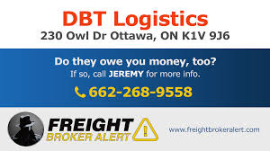 DBT Logistics | Freight Broker Alert How To Be A Successful Freight Broker Business Infographics Right Price Modern Brokerage In The Us Armstrong Website Templates Godaddy Discussion The Truckers Forum 5 Steps Get License Infographic Surety Gr Sample 35 Of Brokers Have Authority Revoked Bond Increase Measure Freightbrokerschool Hash Tags Deskgram To Check If Your Is Legitimate Carrier Requirements Checklist Pdf Agent Agreement Industry News Current Trends In Transport Logistics Bond Renewal Guide Trucking Best Image Truck Kusaboshicom