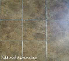 Groutable Vinyl Tile Marble by I U0027m Saying Goodbye To Concrete Floors