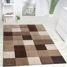 wohnzimmer teppich modern 3 d karo muster