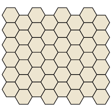 American Olean Porcelain Mosaic Tile by American Olean Tile Unglazed Porcelain Mosaics 2 X 2 Hexagon By