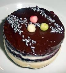 recette de palet mousseu chocolat blanc et myrtilles dessert de