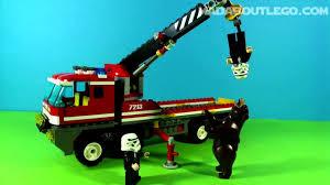 100 Fire Truck Movie LEGO Trucks Lego Lego Fire Lego