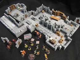 plastic modular dungeon wip input needed hirst arts
