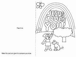Lent Coloring Page Printable Card