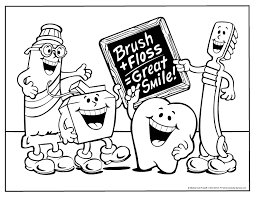 Dental Office Colouring Pages Page
