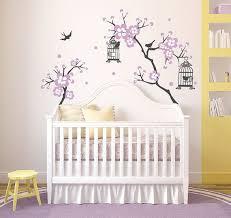 sticker chambre bébé fille stickers arbre chambre bebe maison design bahbe com