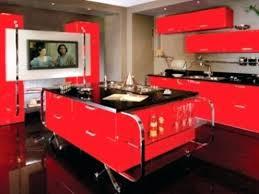 Full Image For Red Black Kitchen Decor Wall Tiles White