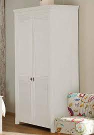 home affaire kleiderschrank rauna aus massiver kiefer 214cm hoch