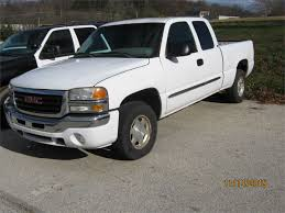 2003 Gmc Pickup Truck 4 Wheel Drive For Auction | Municibid With ... 2003 Gmc Sierra 2500 Information And Photos Zombiedrive 2500hd Diesel Truck Conrad Used Vehicles For Sale 1500 Pickup Truck Item Dc1821 Sold Dece Sierra Hd Crew Cab 4wd Duramax Diesel Youtube Chevrolet Silverado Wikipedia Classiccarscom Cc1028074 Photos Informations Articles Bestcarmagcom Slt In Pickering Ontario For K2500 Heavy Duty At Csc Motor Company 3500 Flatbed F4795 Sol