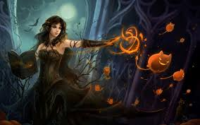 Live Halloween Wallpapers For Desktop by Halloween Witch Wallpapers Live Halloween Witch Images 46 Pc
