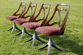 100 1960 Vintage Metal Outdoor Chairs Shabby Chic UpCycle On Twitter Retro Set Of 4 S