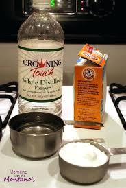 unclog kitchen sink drain clogged cleaning with baking soda and
