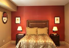 Bedroom Decorating Ideas Brown And Red Compact Vinyl Decor