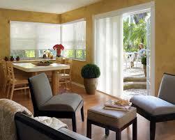 Patio Door Window Treatments Ideas by Danmer Los Angeles Custom Shutters U0026 Window Treatments