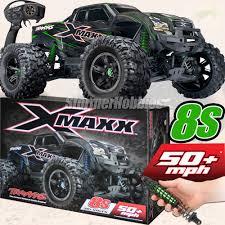 100 Biggest Monster Truck Traxxas XMAXX 4WD VXL8s Brushless RTR GREEN EBay