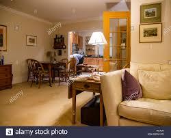 Home Interior Pics Moderne Offene Home Interior Mit Wohnzimmer Esstisch Und