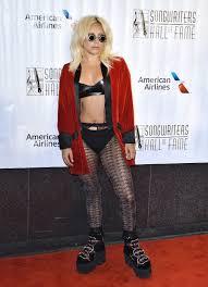 watch lady gaga walk the red carpet in her underwear star magazine