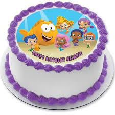 bubble guppies 2 edible cake and cupcake topper edible prints on