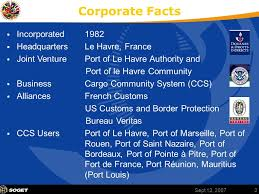 bureau veritas le havre page 1 5th meeting of the inter committee on ports