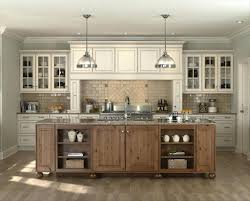 Off White Kitchen Cabinets Black Appliances The Antique Astounding With New Dark Isla