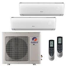 Mini Split Ceiling Cassette Air Conditioner by Gree Multi 21 Zone 42 000 Btu 3 5 Ton Ductless Mini Split Air