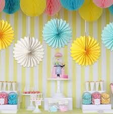 4Pc 10Inch25Cm Tissue Paper Fan Honeycomb Decoration Pertaining To Craft