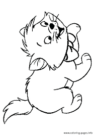 Kittens Coloring Pages Page Kitten Book Also The Colouring
