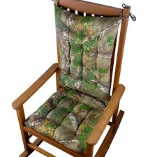 Realtree Xtra Green (R) Camo Rocking Chair Cushions - Latex Foam ... Mainstays Outdoor Ding Chair Cushion Snowball Floral Bench Hyatt Jumbo 2piece Rocking Set Brilliant Wooden With Replacement Cushions And Greendale Home Fashions Fabric Wicker Rocker Seat With Solid Navy Blue Attractive Glider Rocking Chair Cushion Upholstered Cushionremarkable Cusion Fniture Pretty Pads Marvellous Designs For Ipirations Excellent Walmart Patio To