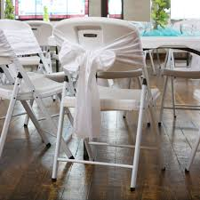 Folding Chair Carts Lifetime by Lifetime 80359 White Wedding Chair 32 Pack On Sale With Fast Shipping