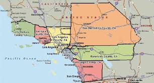 Map Of California Counties Southern Us Google Maps With 1113 X