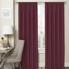 Purple Ruffle Blackout Curtains by Kids U0027 Curtains