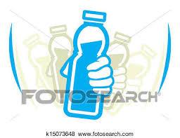 Clip Art Of Shake Bottle Yogurt Before Use K15073648